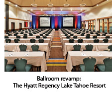 Ballroom at the Hyatt Regency Lake Tahoe Resort