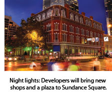 Plaza to Sundance Square