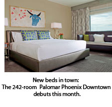 Bedroom at Palomar Phoenix Downtown