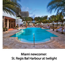St Regis Bal Harbour at twilight