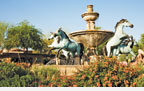 Fountain in Scottsdale, Ariz