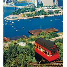 1109 Cable-car at the Duquesne Incline
