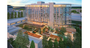 In California The 250 Room Property Under Construction On Independence Street Silicon Valley S Menlo Park Will Be Called Hotel Nia Developers Revealed